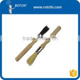 wooden handle round cleaning brush,gun cleaning kit, gun accessories