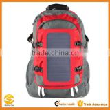 Custom make popular solar backpack,camping military solar backpack,solar hydration backpack