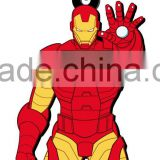 Marvel iron man soft touch pvc keychain avenger MG-68029