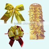 Gift Box Decorated with Velvet Butterfly Ribbon Tie or Satin Pull Bow for Bottle Neck Decoration
