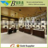 high quality modern commercial bag store display shelf furnitures