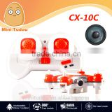wholesales New Original Cheerson CX-10C 2.4G 6-Axis Gyro RTF Mini Drone With 0.3MP Camera in stock