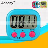 Factory supply small cooking feeder lab digital kitchen countdown timer digital wall clock timer