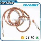 2016 top selling products in alibaba pure copper 3.5mm stereo male to male audio aux cable alibaba co uk free sample                                                                                                         Supplier's Choice