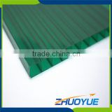 cixi factory cheap hollow polycarbonate sheet price for greenhouse