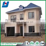 Beautiful design light guage steel prefabricated houses