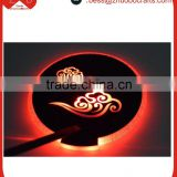 Wholesale bar KTV high-grade coaster, round led light mat flashing beer mats