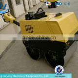 mini road roller manual vibrating road roller (Operating mass:3080kg, Diesel Power:21kw)