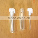 1ml Small Glass Perfume Bottle, 1 CC Mini Tester Glass Perfume Vials,2ml,1.5ml 3ml Is Available