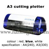 A3 and A4 size DC240/330 vinyl cutter plotter machine/Cutter Plotter Cheap Machine for 2015