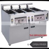 electric deep open fryer easy to use
