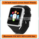 Smart Watch GSM Mobile Phone 850/900/1800/1900MHz Bluetooth cell phone Passometer Monitor Camera for Android phone 1.3MP camera