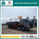 Factory supply top quality SINOTRUK+XCMG small boom lifts, truck mounted boom lift