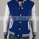 cotton baseball varsity jacket woman