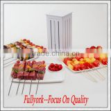 Brochette Express As Seen On TV Skewers Food Slicer BBQ Grill Shish Kabab Maker
