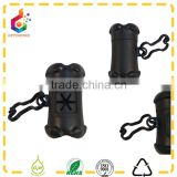 black bone shape poop bag dispenser with button                                                                         Quality Choice
