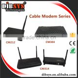 Etherent data video gateway delivery of QAM/IP demodulator,high speed internet access cable modem and wireless router