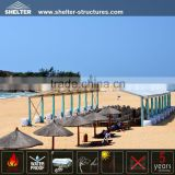 Large Aluminum Structure Beach Tent for Summer Shelter Tent