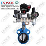 Wafer Butterfly Valve with Pneumatic Actuator