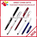 Promotional Metal Steel Laser Engrave Customized Logo Stylus Touch Screen Ball Point Pen                                                                         Quality Choice
