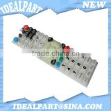 TV remote clicker rubber press button