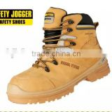Safety Jogger supreme leather S3 high-cut rubber sole safety shoes
