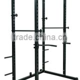 Crossfit Gym Power Squat Cage With Plates Storage                                                                         Quality Choice