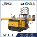 DF-H-4 Portable full hydraulic core drill rig with wireline tools