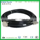 DB68 Pins SCSI cable Male to Male with male with stranded copper conductor