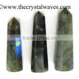 Labradorite wholesale Pencil 6 to 8 Facets Single Terminated Point Khambhat Gujarat India crystal waves