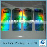 Glossy Lamination Roll Anti-Fake Laser Material Label For Plastic Bottle