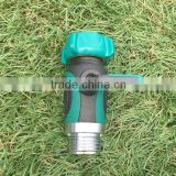 Garden Hose to Hose Connector Single Shut Off Valve | Arthritis Friendly Faucet Extension