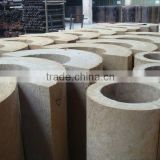 mineral wool heat resistant/acoustic insulation pipe section