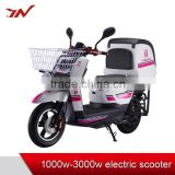 Jianuo Vehicle new product 3000W Takeout electric motorcycle electric bicycle with delivery box