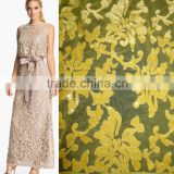 Full sequins lace fabric elegant popular designs for african wedding big party french net lace/tulle fabric lace