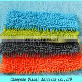 microfiber colorful striped mop cloth, hotel,home use floor cleaning brush
