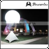 Party decorative halogen tripod balloon , inflatable illumination large balloons with stand