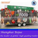 2015 hot sales best quality insulated food cart western food cart mobile drink food cart