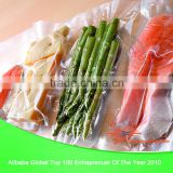 Beautiful and practical transparent bpa free no leakage vacuum sealer bags