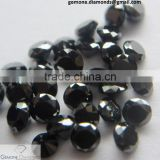 genuine natural calibrated loose black diamond from surat india