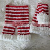 Newborn Santa Hat And Pants Set Baby Christmas Props Photography Prop