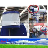 Newest design !! 8L side assistant tank for solar water heater hot selling in india market