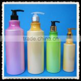Personal care screen printing surface handing 1litre PET plastic lotion bottle for shampoo