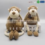 New Style Lovely Plush Monkey Toys With Long Arms and Long Legs