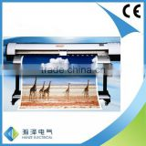 Dx5 Digital indoor and outdoor printing mashine Water base Micro Piezo ECO solvent Printer 7160