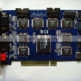 HX-6808A 32 channel DVR card 32ch video input,8ch audio input,TV-out