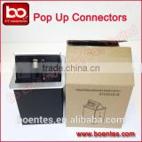 Table Desktop Pop Up Power Socket Box with Bottom Interface Connector for Conference Power Solutions