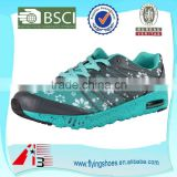 new design trendy air sole athletic walk shoes