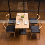 resturant furniture / italian cafe furniture / cheap cafe furniture / used cafe furniture / one piece wood dining table