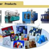 lubricant oil bottles plastic extrusion machinery/blow mould machine for jerry can making